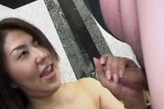 Phim sex chau my Busty and oiled up woman Ai Okada cock sucking and humping