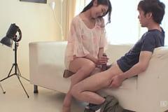 Sex roblox Kaoru Natsuki gets nasty on a big cock at work